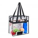 Clearworld Clear Tote Bag with Zipper
