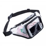 Clearworld Clear Fanny Pack,Stadium Approved Waist Pack for Festival, Games,Travel and Concerts