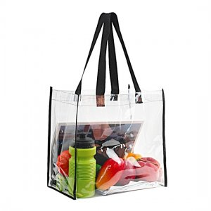 Clearworld Clear Tote Bag- Top Open